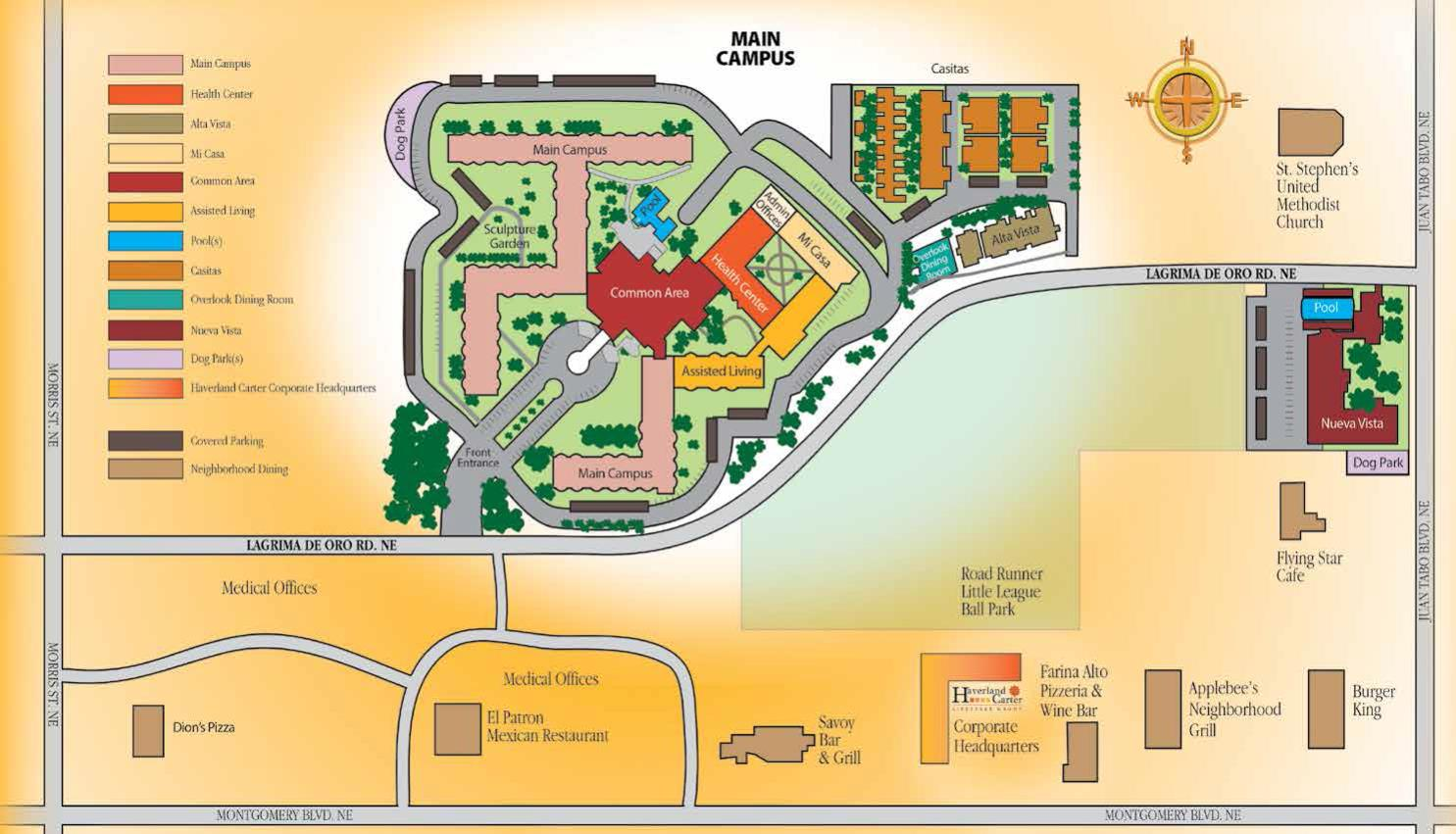 Campus Overview Map
