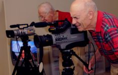 Residents Filming for TV Channel 77